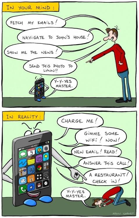 Realidad al usar tu smartphone