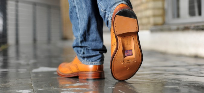zapatos smartphone
