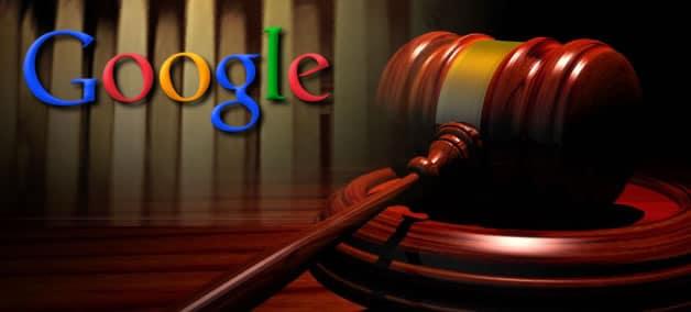 Google en la corte
