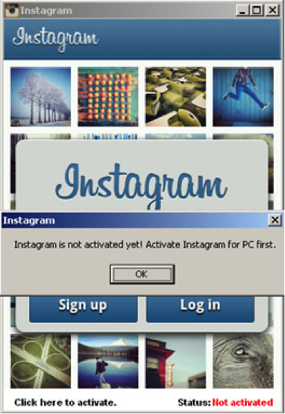 Insragram for PC