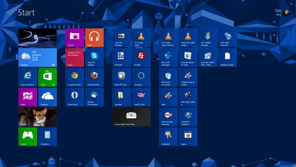 La interfaz gráfica de Windows 8, sigue siendo una problemática frente Windows 7.
