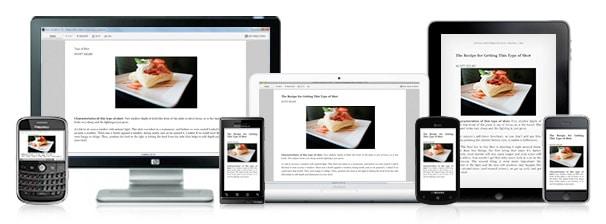 Aplicación de libros: Kindle App en múltiples dispositivos