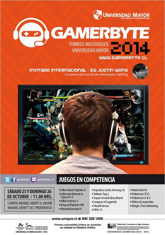 Afiche Gamerbyte 2014.