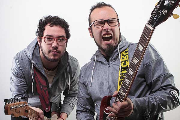 Matias Astudillo y Lalo Ibeas de PERNO.