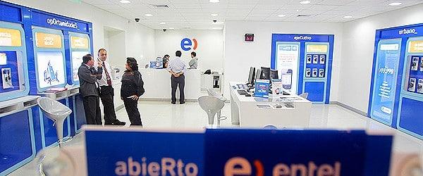 Unas 30 tiendas de Entel se verían afectada por falta de personal.