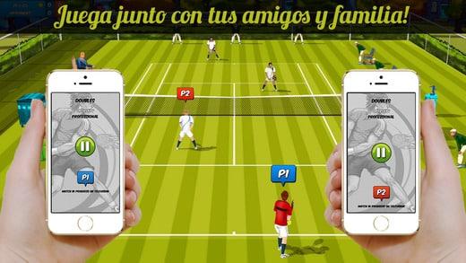 Corazón: videojuego Motion Tennis para iOS