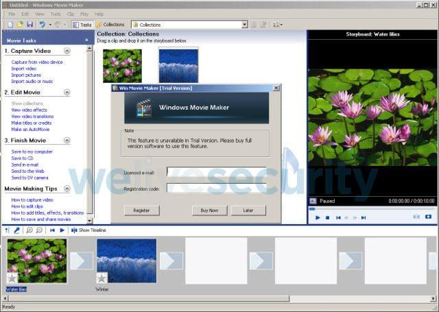Crean falsa versión del clásico Windows Movie Maker para estafarte